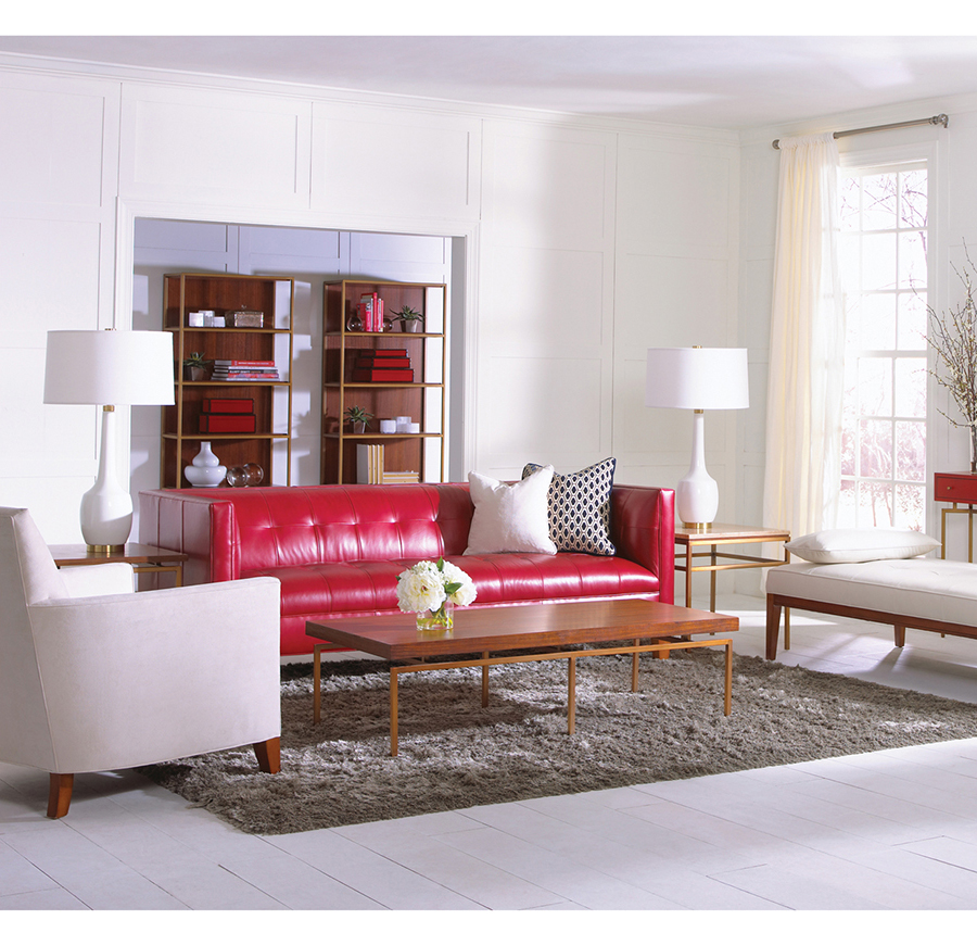 KENNEDY LEATHER SOFA, , hi-res