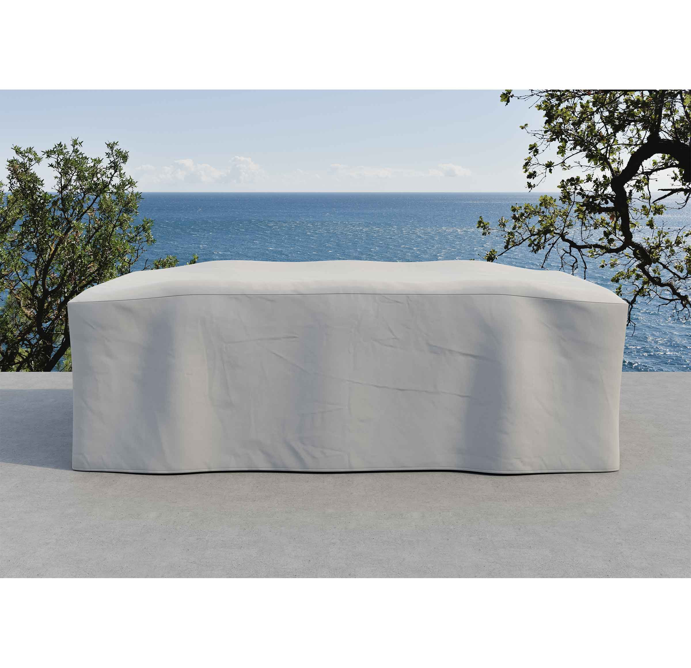 SANIBEL OUTDOOR COCKTAIL TABLE COVER, , hi-res