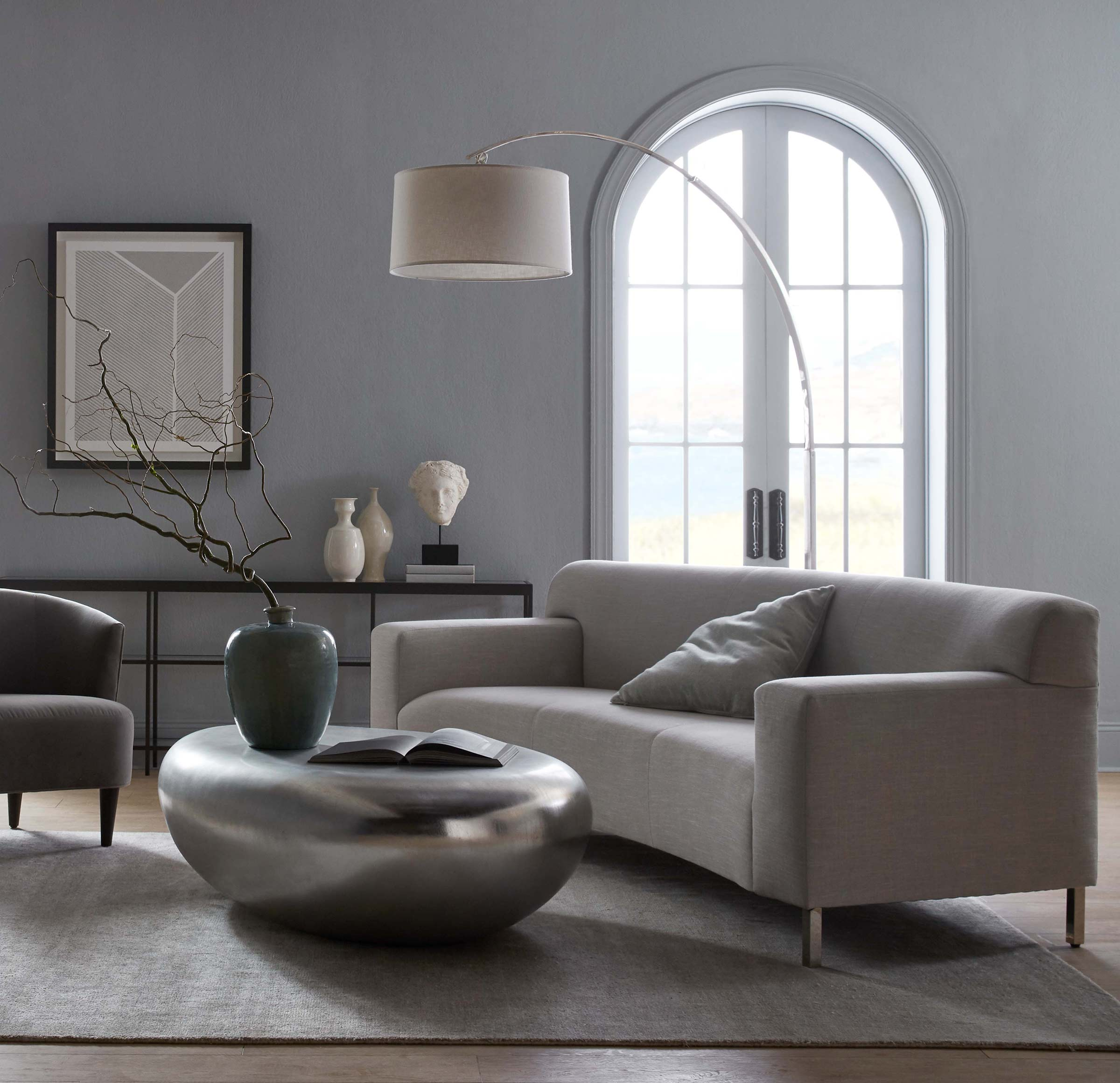MARCELLO CURVED SOFA, NUANCE - DOVE, hi-res