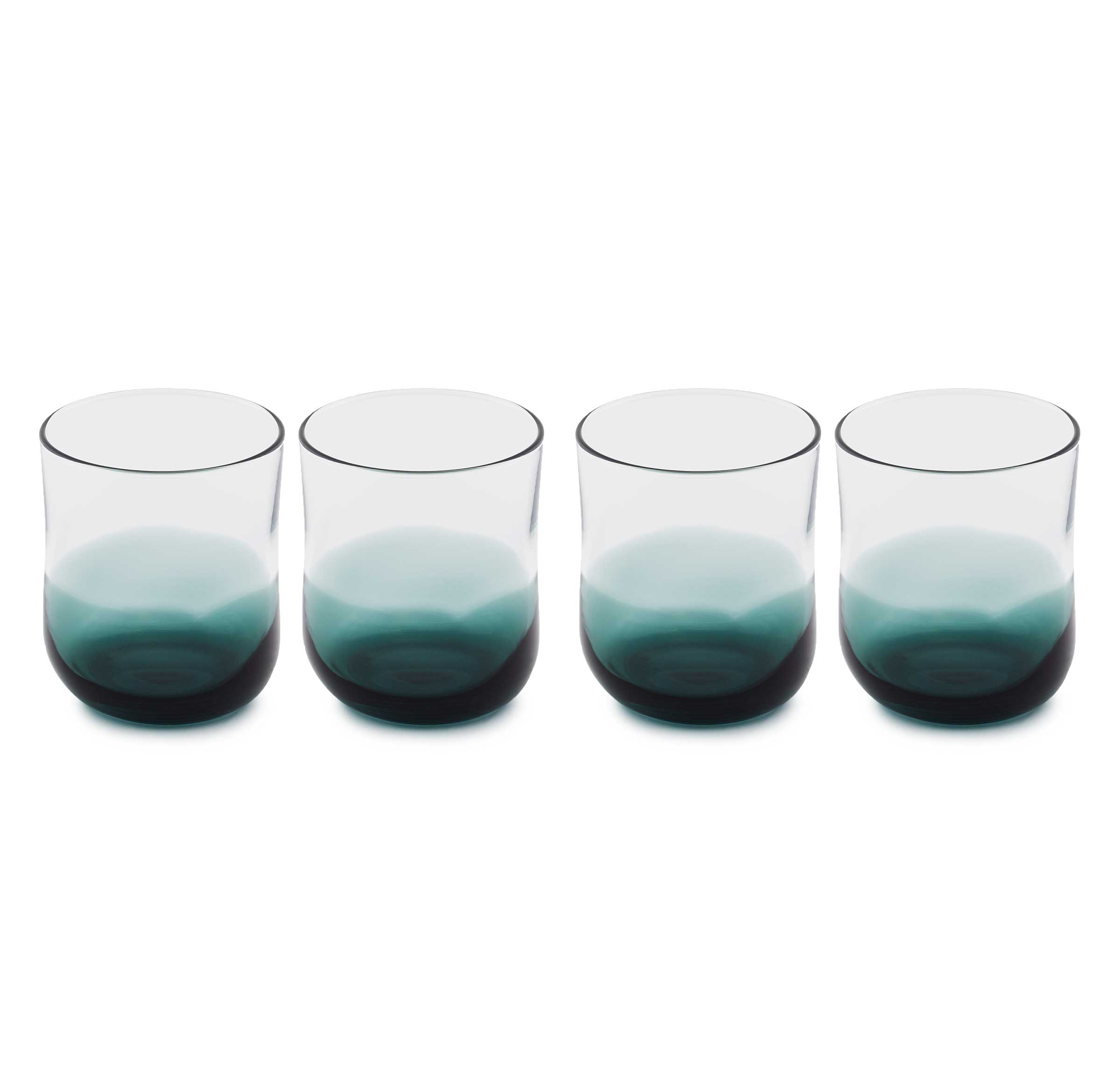 COLORBLOCK TUMBLERS- SET OF 4, , hi-res