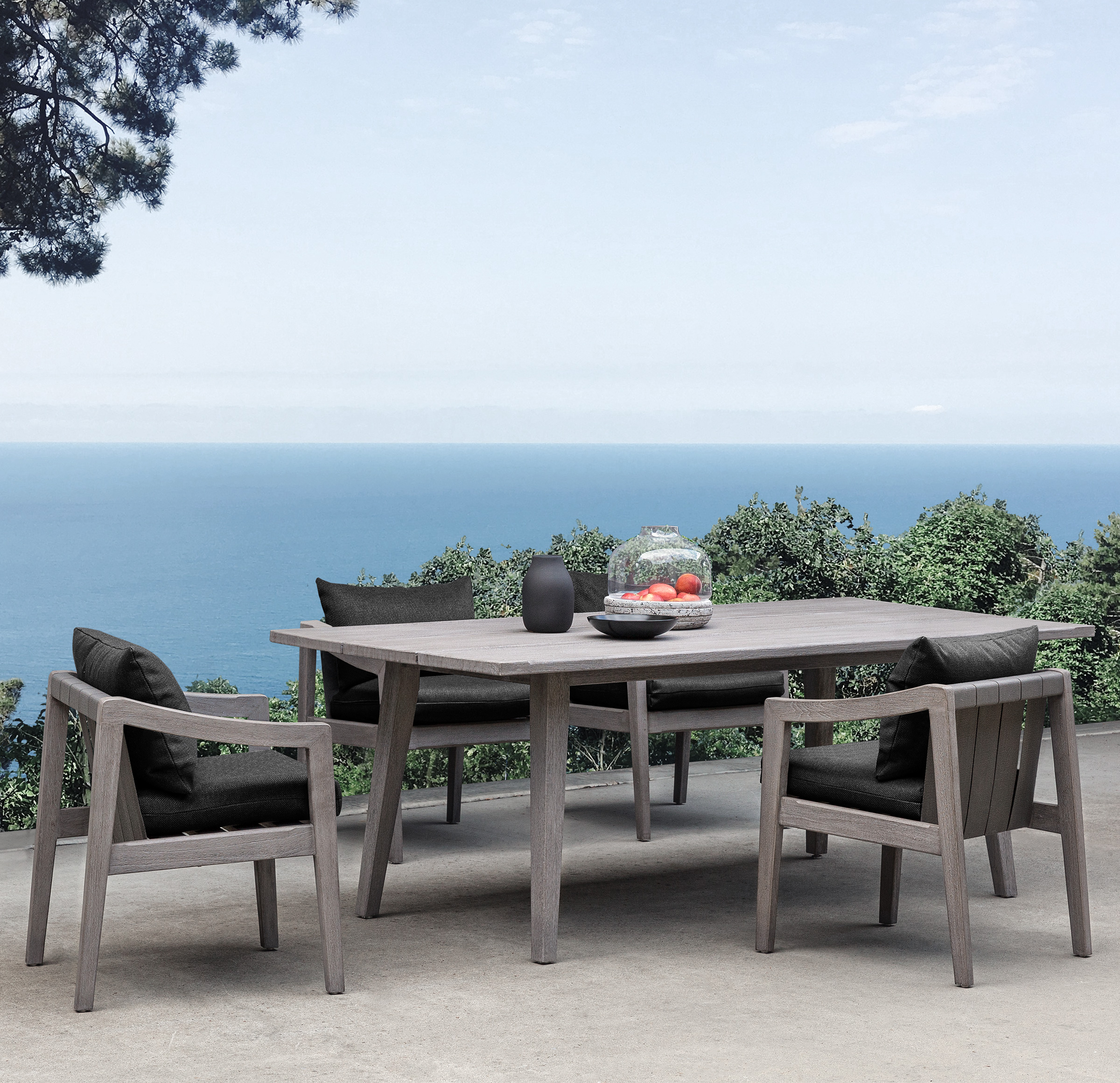 DEL MAR RECTANGLE DINING TABLE, , hi-res